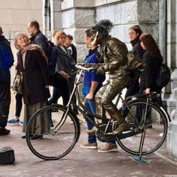 Amsterdam Living Statue